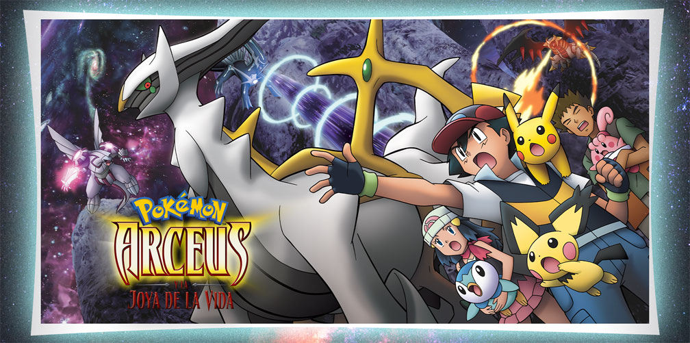 La Película Pokémon: Arceus y la Joya de la Vida en TV Pokémon hasta el 5 de Marzo
