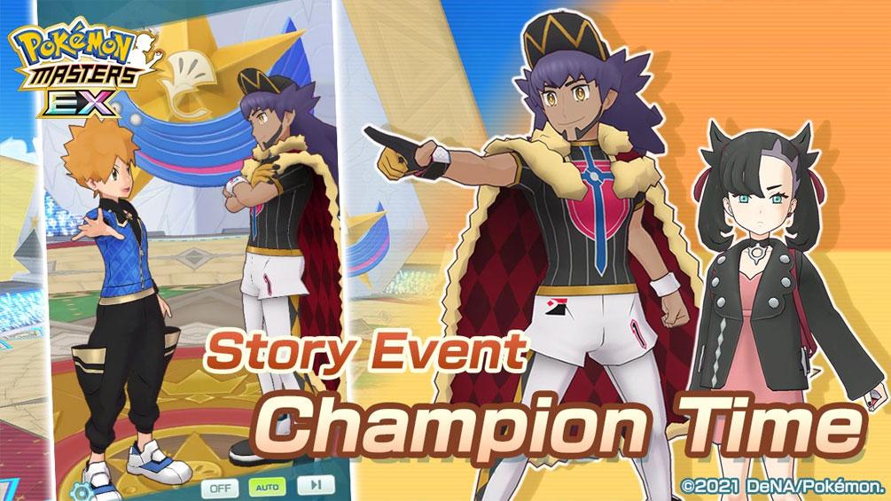El Evento Episódico Un Campeón no nace, se hace llega a Pokémon Masters