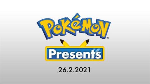 Se anuncia nuevo Pokémon Presents para el 26 de Febrero