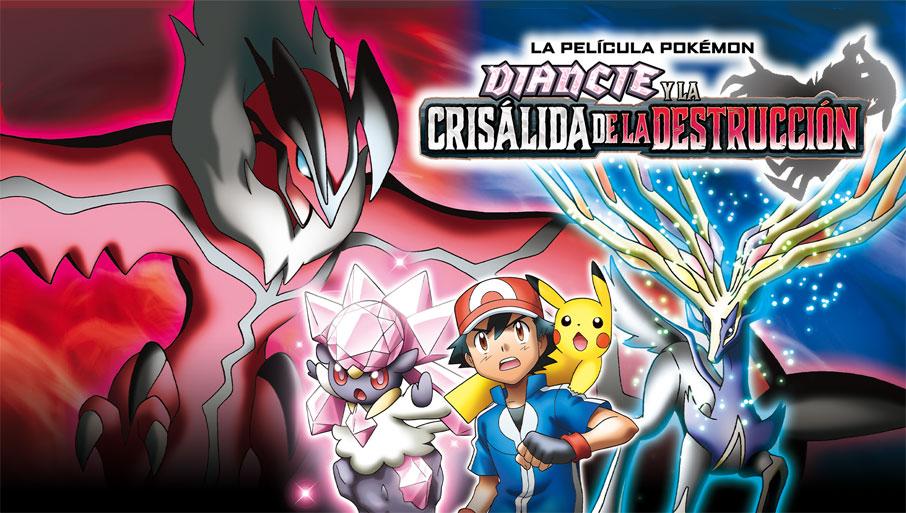 TV Pokémon: Diancie y la crisálida de la destrucción
