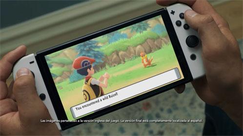 La Nintendo Switch (modelo OLED) es anunciada y muestra imágenes de Pokémon DB PR