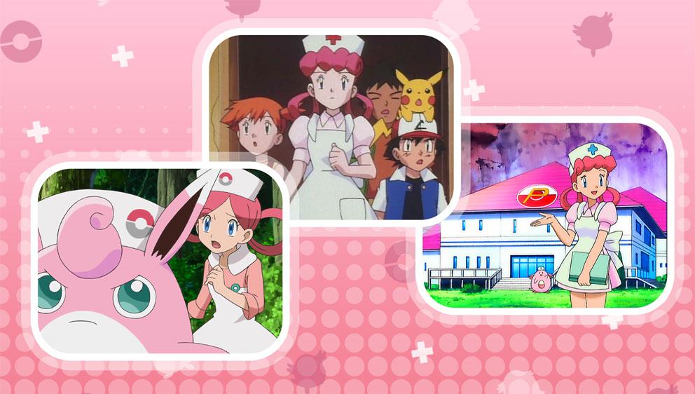 TV Pokémon: Especial de las Enfermeras Joy