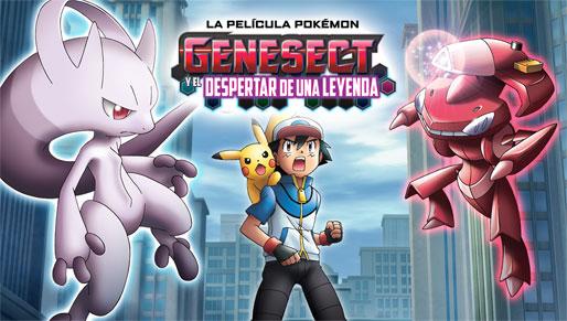 Mira la Película Genesect y el despertar de una leyenda en TV Pokémon