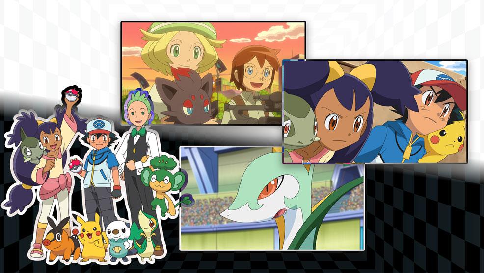 Disfruta del Especial Teselia / Unova es Noticia en TV Pokémon