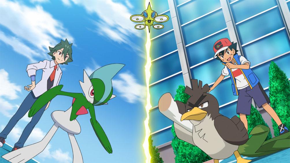 Capítulo 60 Anime Pokémon Viajes - ¡Apunta a ser un Maestro Puerro! (Resumen)
