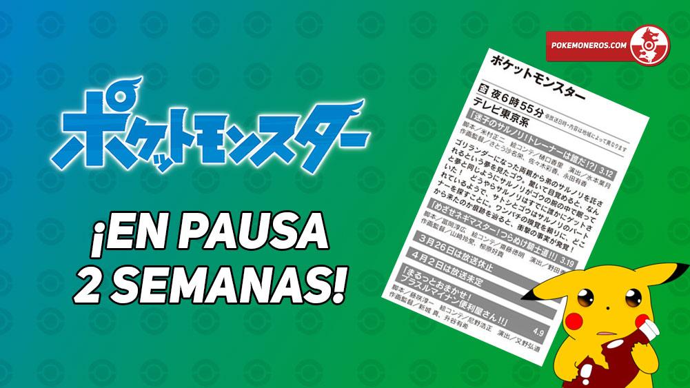 El Anime de Pokémon Viajes vuelve a entrar en pausa por 2 semanas