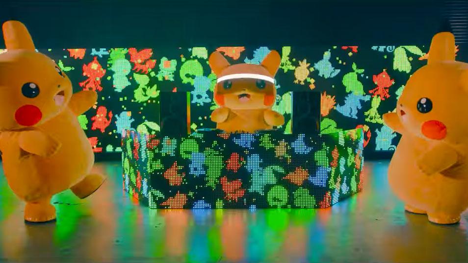Pikachu se transforma en DJ en un nuevo vídeo de Pokémon Japón