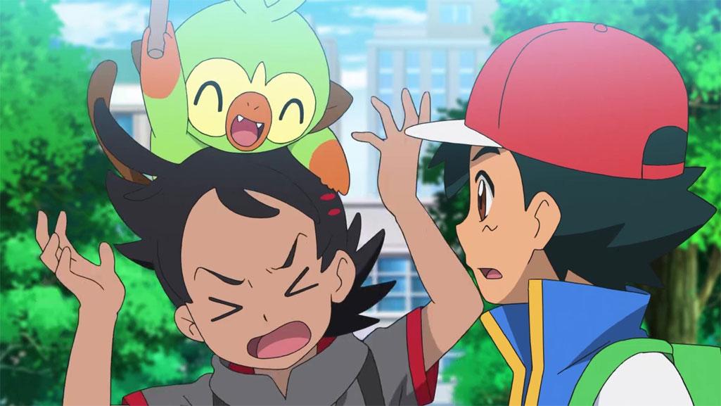 Capítulo 59 Anime Pokémon Viajes - ¡El Grookey perdido! (Resumen)