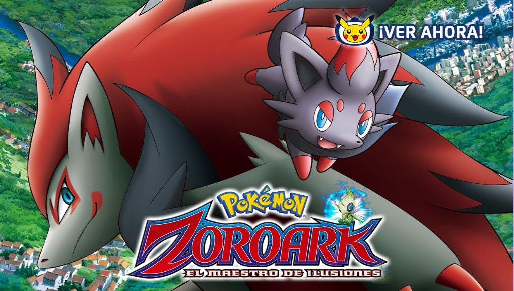 La Película Zoroark: el maestro de ilusiones disponible en TV Pokémon hasta el 2 de Abril