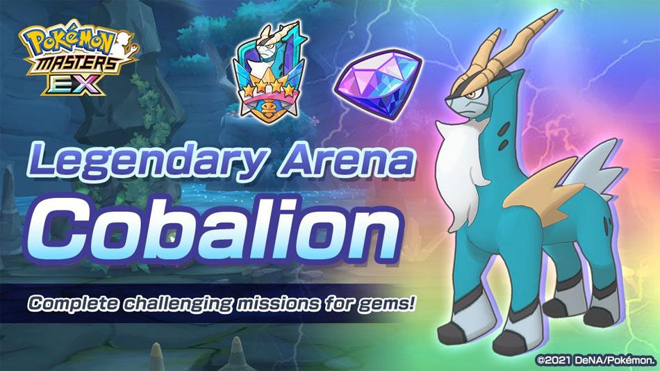 Pokémon Masters: Cobalion Regresa + Evento Huevo tipo Fuego