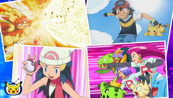 TV Pokémon: Llega la Primera Temporada de Pokémon Diamante y Perla