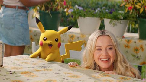 ⚡Electric⚡ de Katy Perry x Pokémon 25 Aniversario ya está disponible