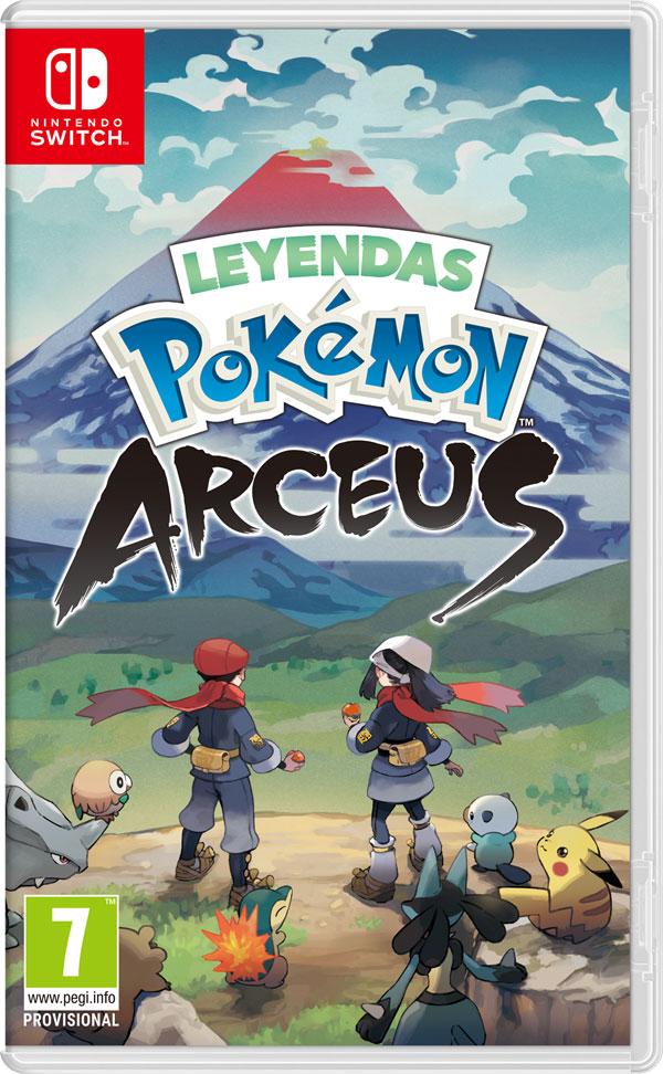 Portada Leyendas Pokémon Arceus