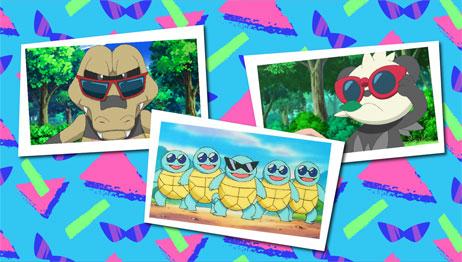 TV Pokémon: Especial gafas veraniegas