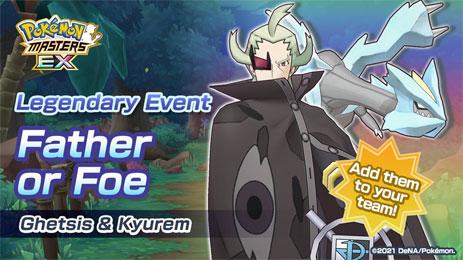 El Evento Legendario de Ghechis y Kyurem ya está disponible en Pokémon Masters