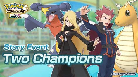 Pokémon Masters: Regresa el evento episódico Los Dos Campeones