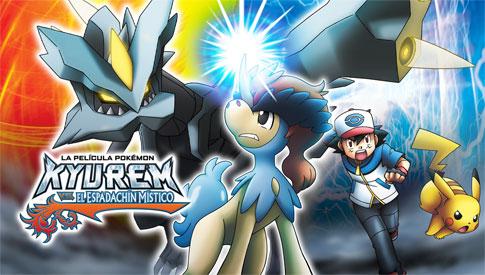 Mira la Película Kyurem vs el Espadachín Místico en TV Pokémon