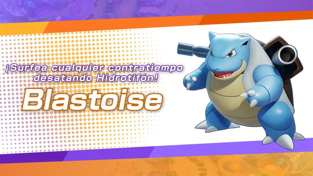 Pokémon UNITE: Blastoise ya está disponible para jugar
