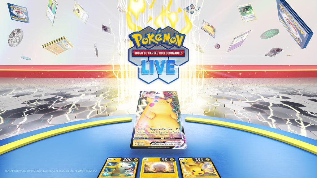 La Aplicación JCC / TCG Pokémon Live ha sido presentada