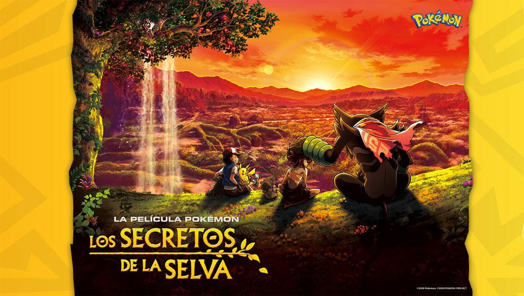 La Película Pokémon Los secretos de la selva llegará a Netflix este 8 de Octubre de 2021