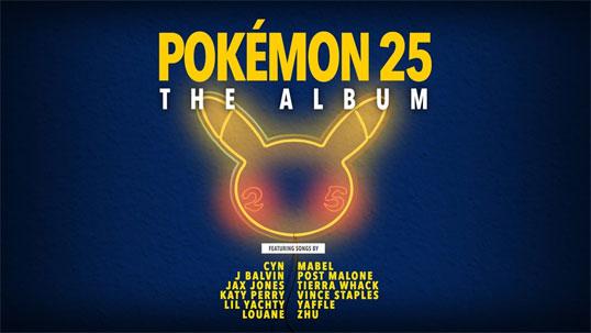Pokémon 25: El Álbum estará disponible el 15 de Octubre de 2021