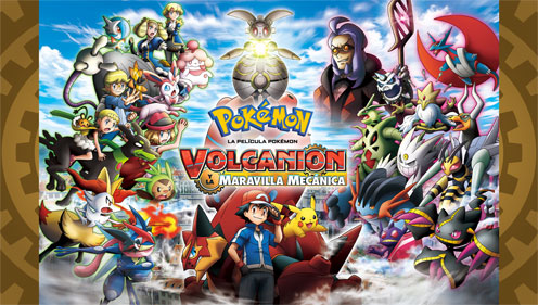 TV Pokémon: Película 19 - Volcanion y la maravilla mecánica