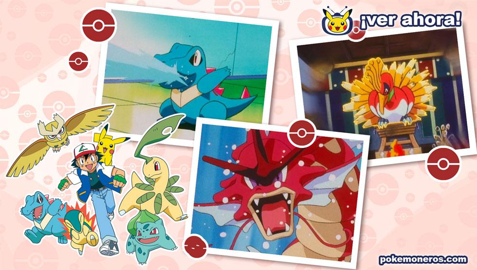 TV Pokémon Especial: Viajes por Johto