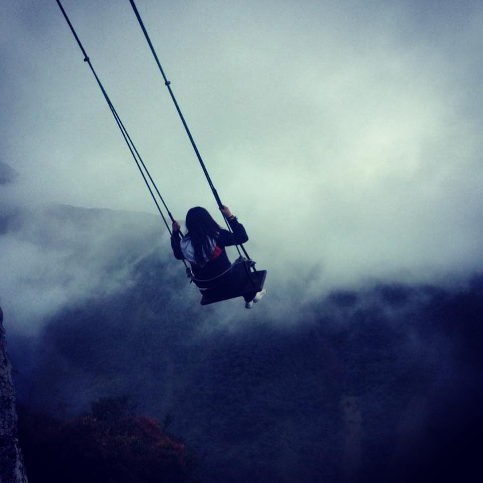 Swing at the end of the world | Ecuador