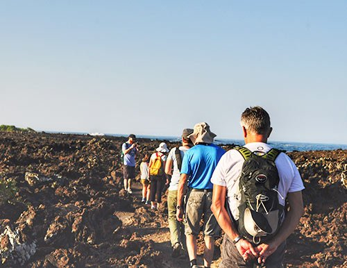 Hiking Galapagos