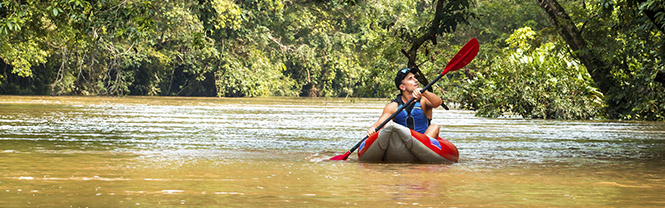 Kayaking tours Ecuador