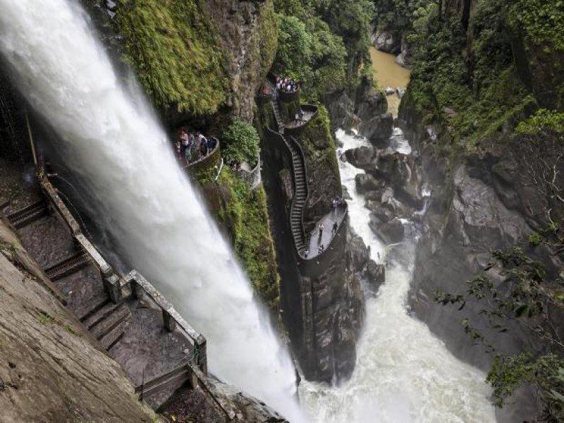Pailon de Diablo | Baños Ecuador