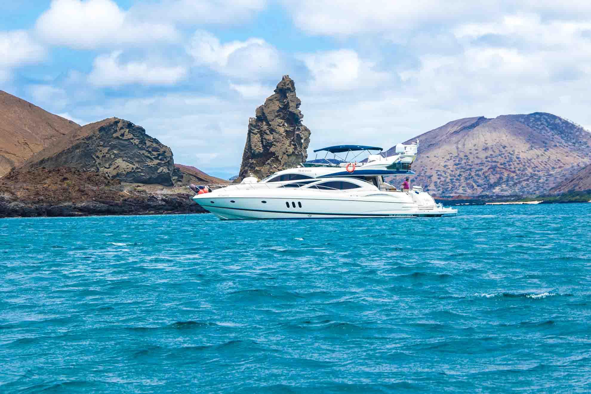 Galapagos yacht | Kicker rock