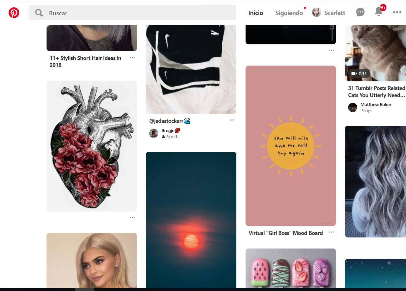 Replica de Pinterest