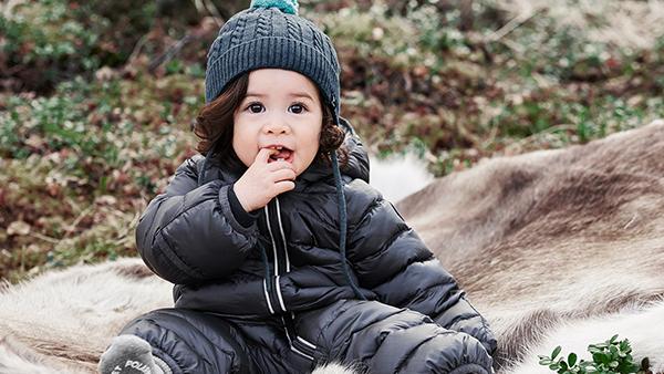 Så klär du din bebis på vintern