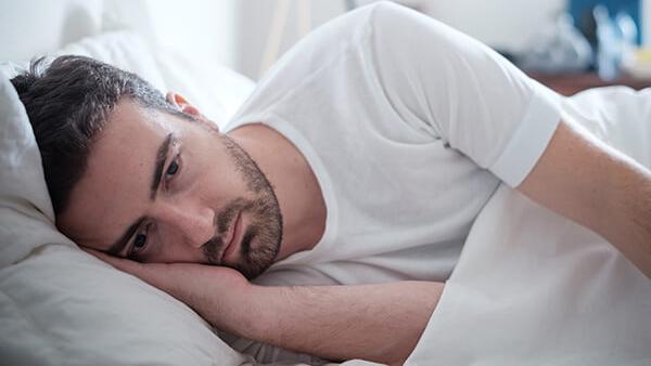 Mannen kunnen zich ook neerslachtig voelen