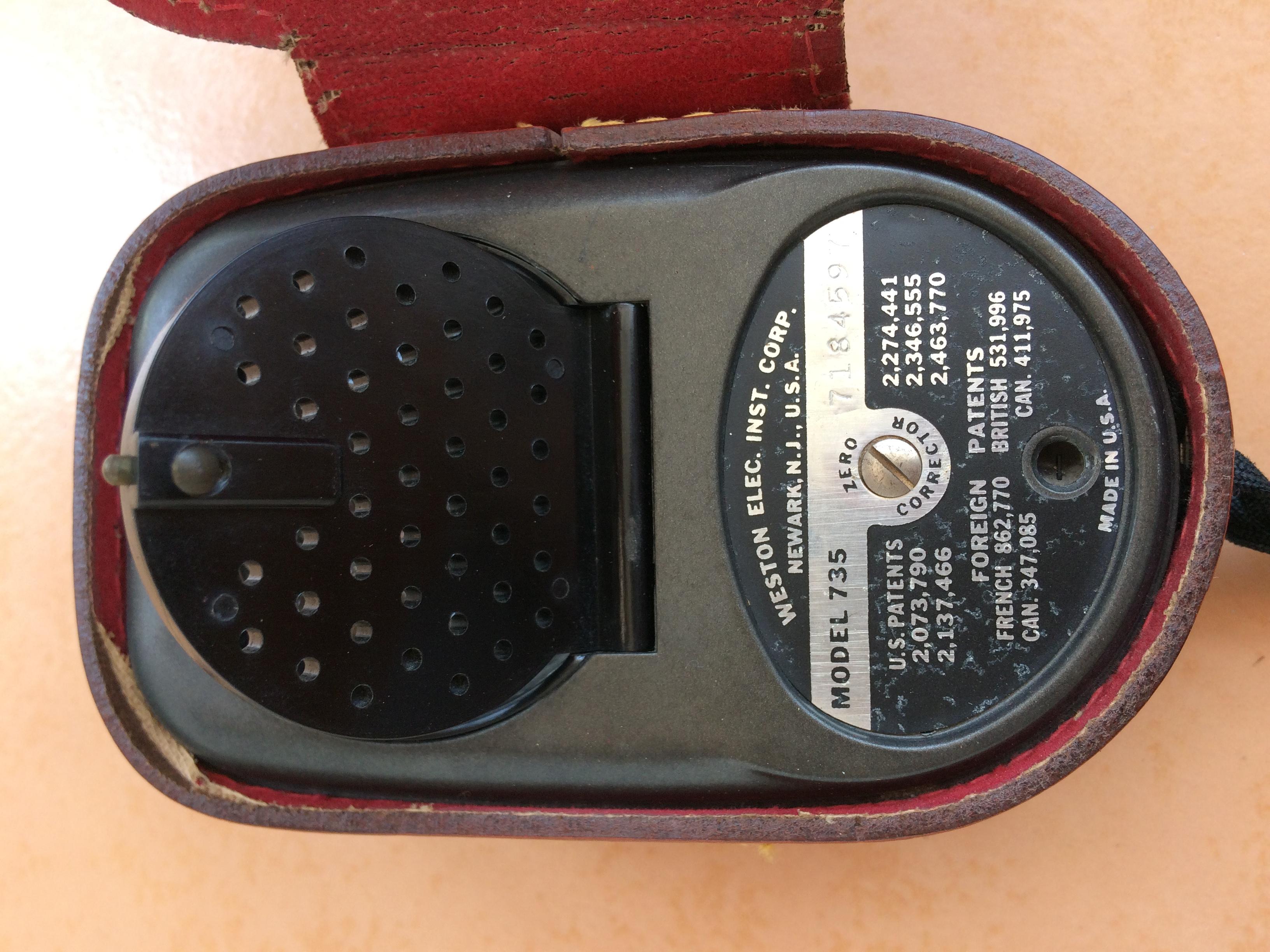 Barang Antik ==> Universal Exposure Meter - Merk WESTON - Made In USA