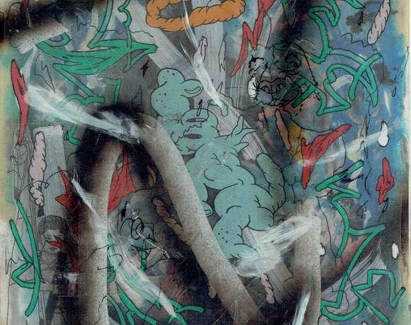 El vector escorpión | Sobre la obra de Luis Campos