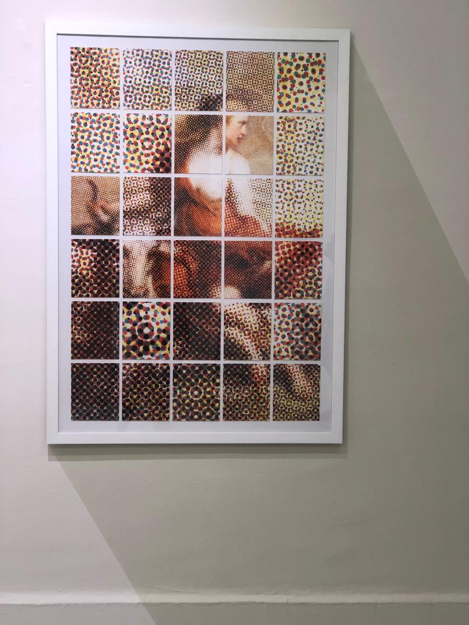 Vista de instalación, Roseta, Andrés Felipe Castaño, Galería Karen Huber, 2019, Cortesía de Galería Karen Huber