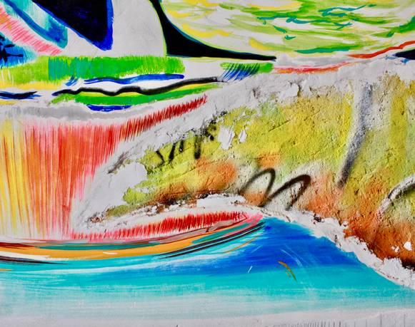 Una casona se llena de mar, entrevista a Allan Villavicencio sobre los murales Transcapes