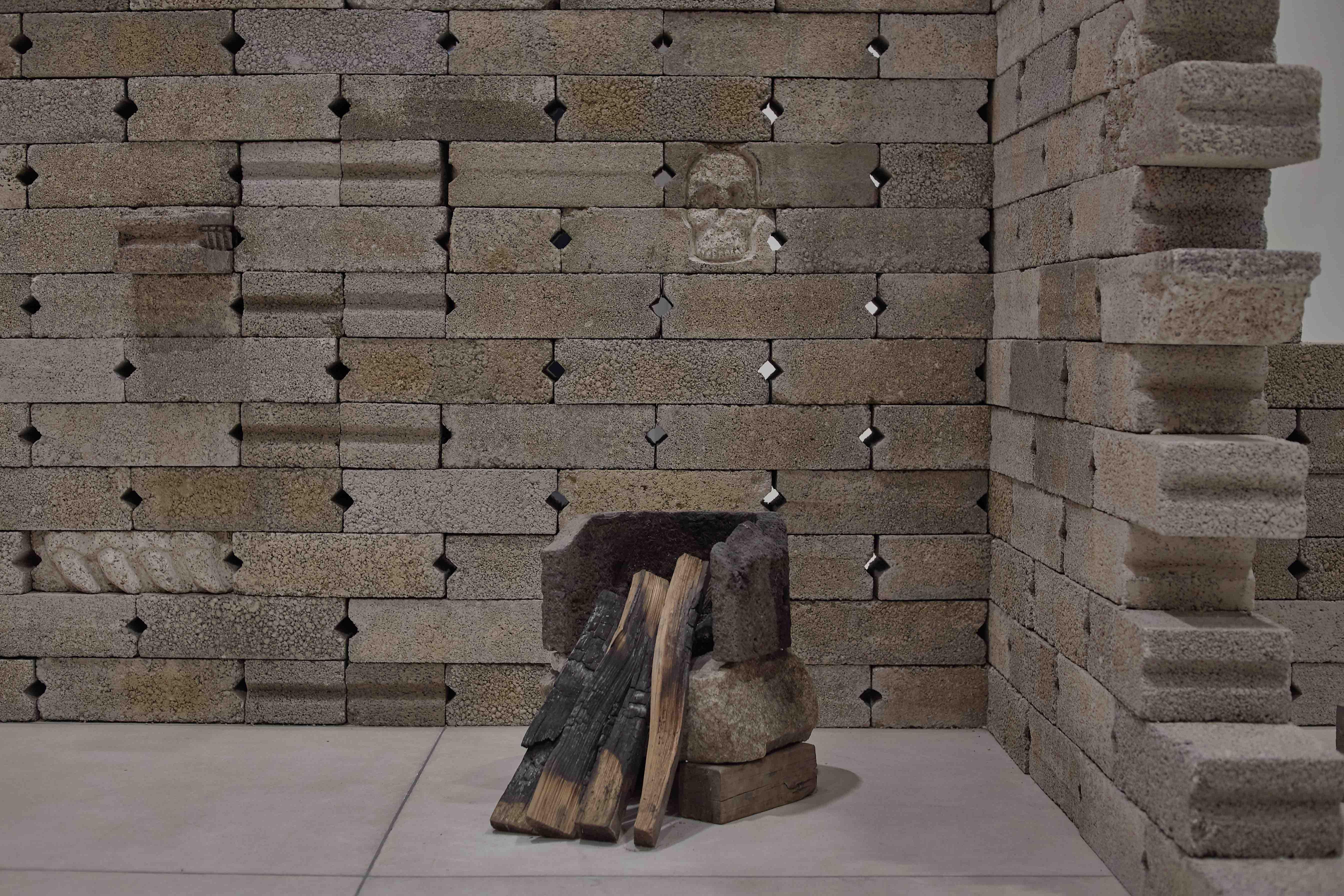 Diego Pérez, Muro sin nombre, 2020. Cortesía de Galería RGR