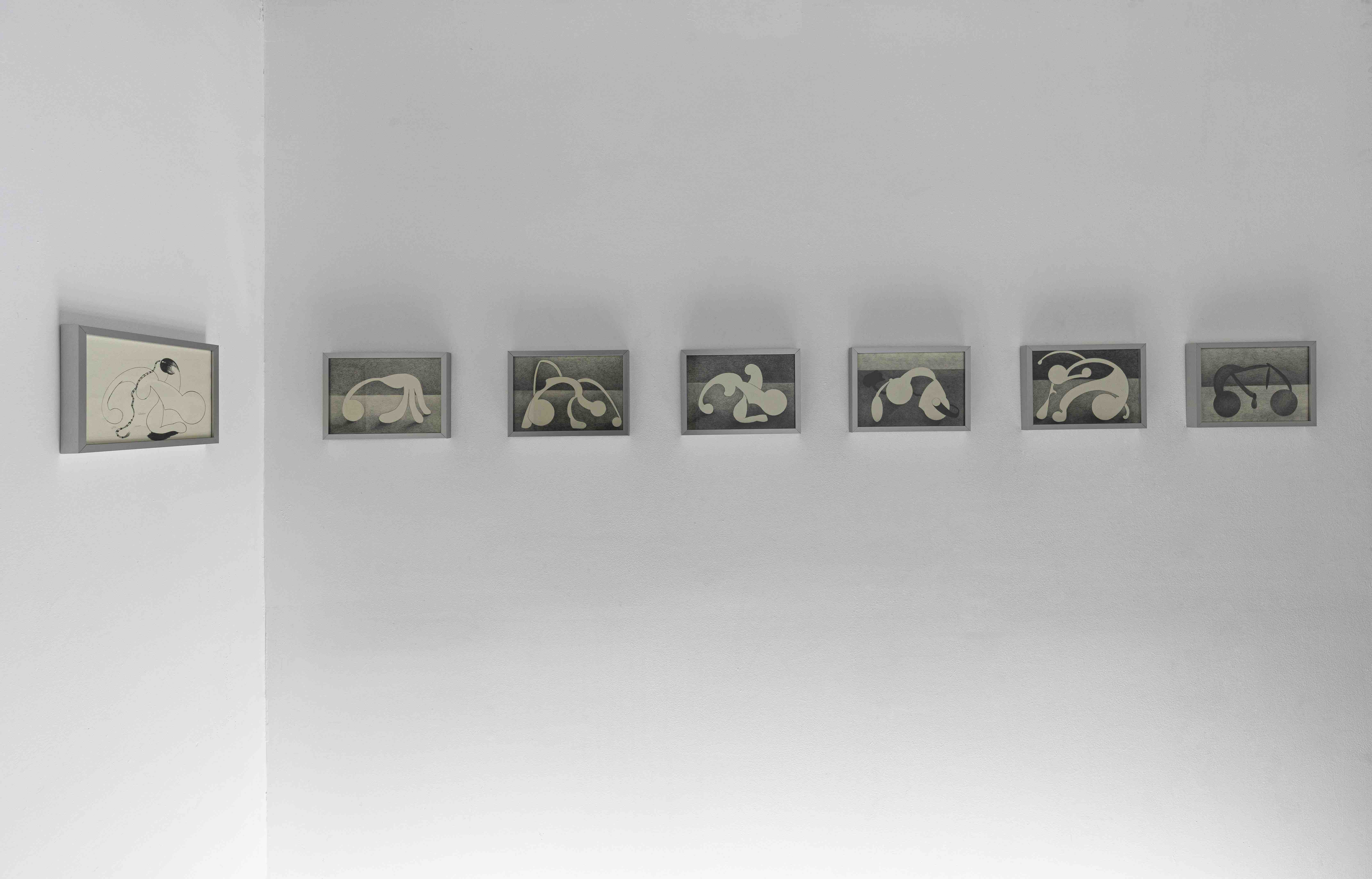 Installation view of Que el día se convierta en noche, Milagros Rojas, Salón Silicón, 2021. Photo: Jordán Rodríguez. Courtesy of the artist and Salón Silicon