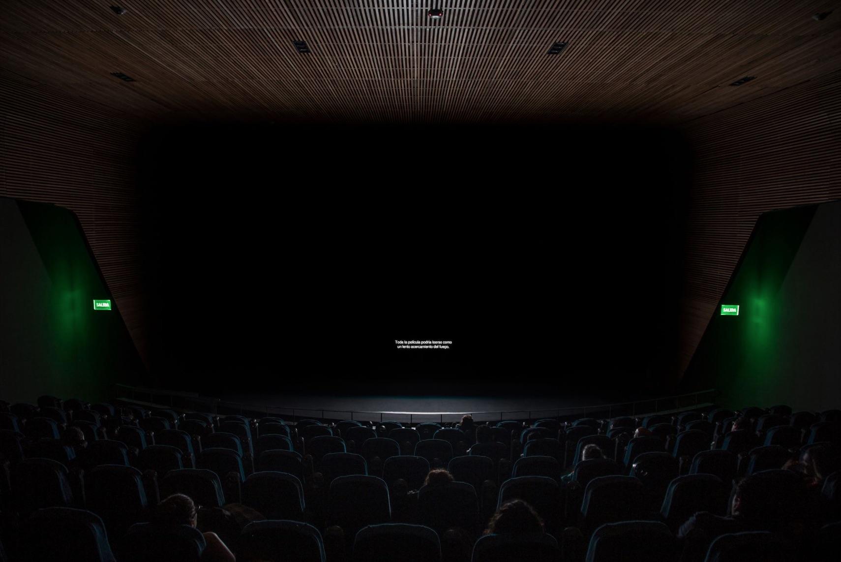 """Daniel Monroy Cuevas, Toda la película podría leerse como un lento acercamiento al fuego (""""The Whole Film Could be Read as a Slow Approach to Fire""""), 2019. Courtesy of the artist."""