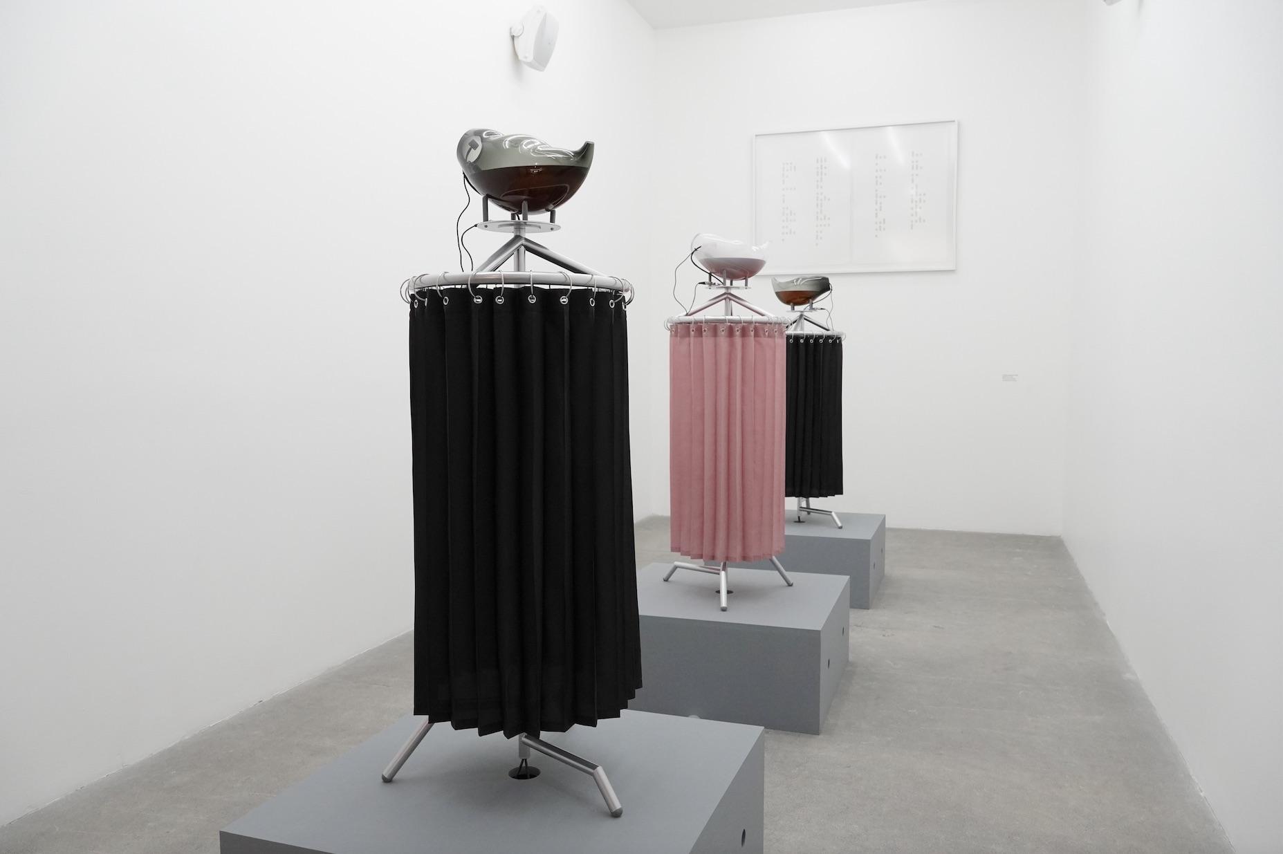 Amor Muñoz, Vista de la exposición Hybrida, MUAC, 2021. Cortesía de la artista