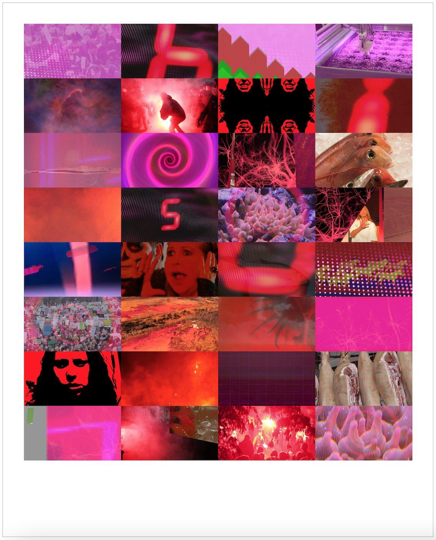 Melanie Smith, Fifteen Minutes (Pink), 2021. Cortesía de Proyecto Paralelo