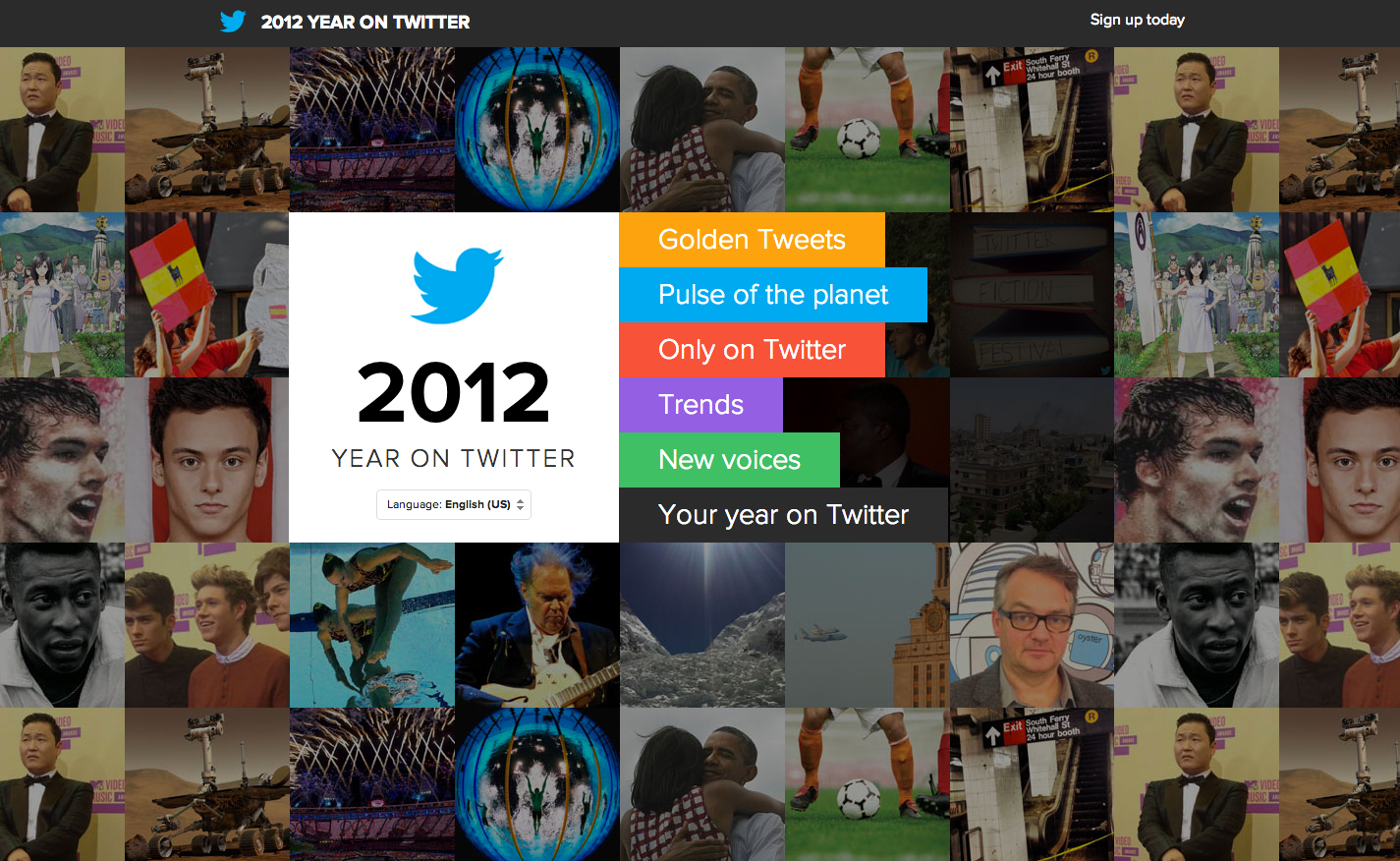 2012 Year on Twitter