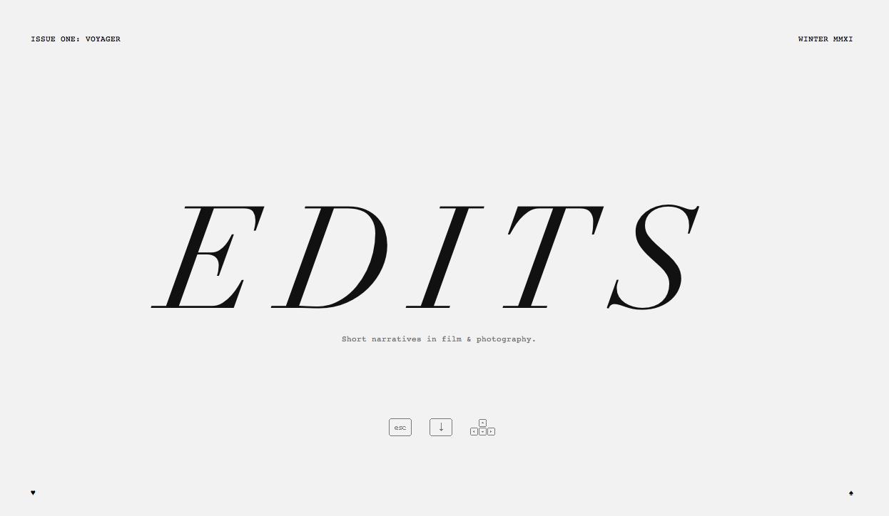 Edits Quarterly