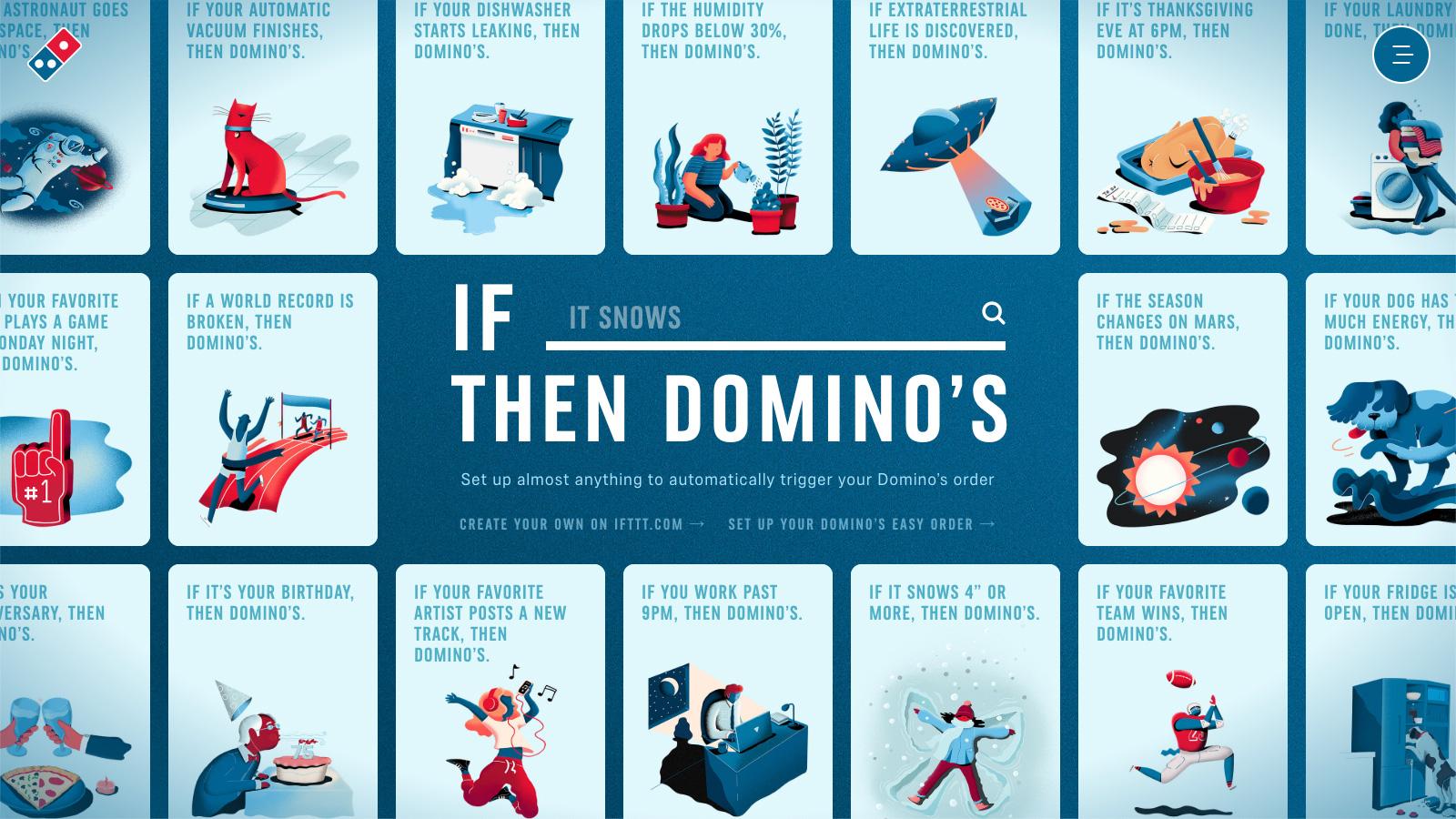 Domino's Pizza + IFTTT
