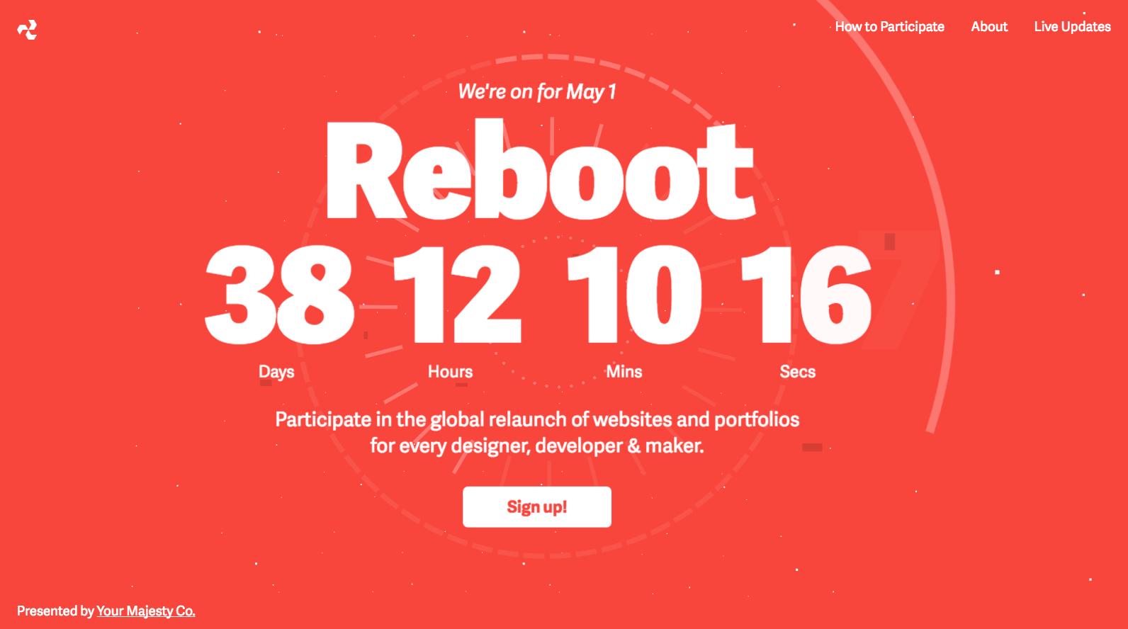 May 1 Reboot