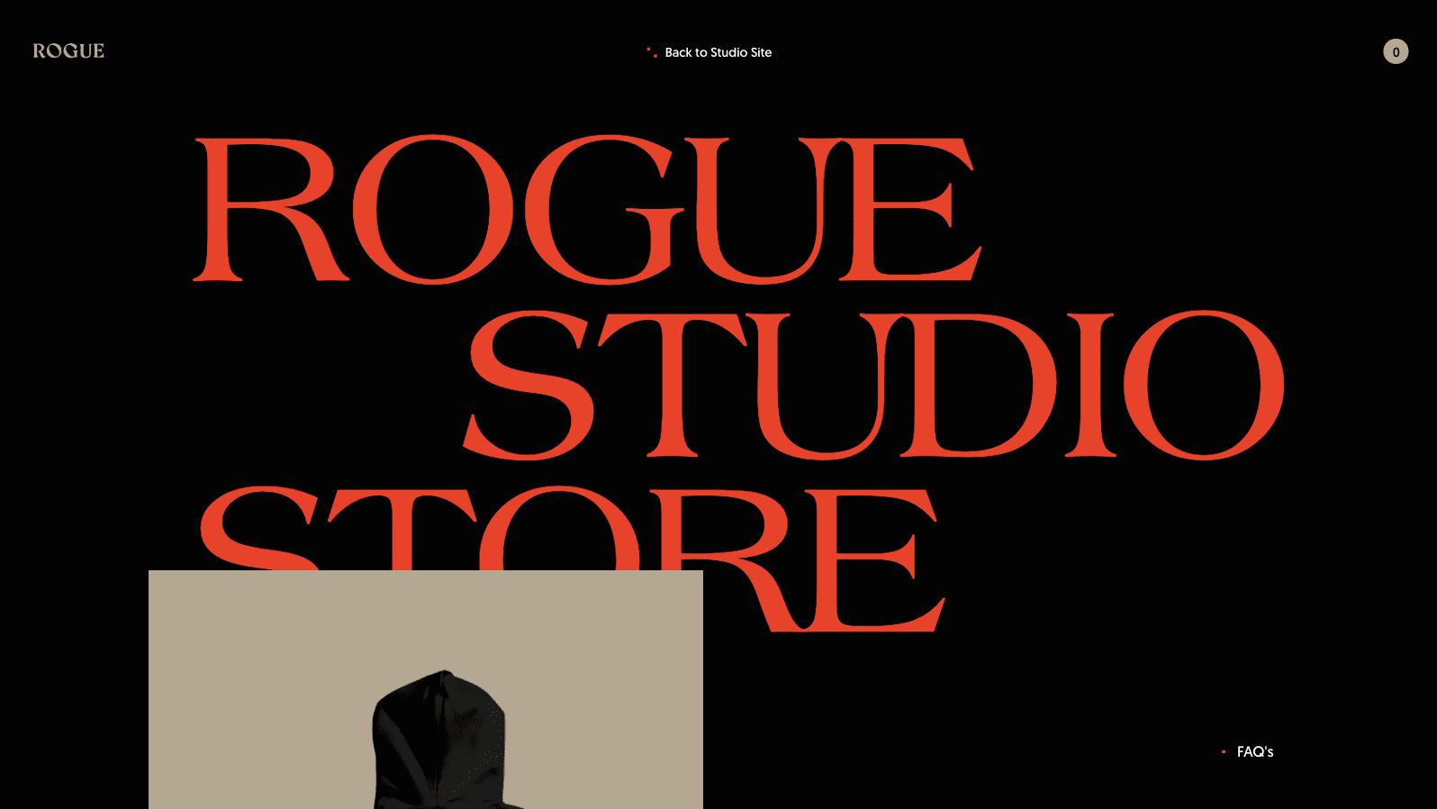 Rogue Studio Store