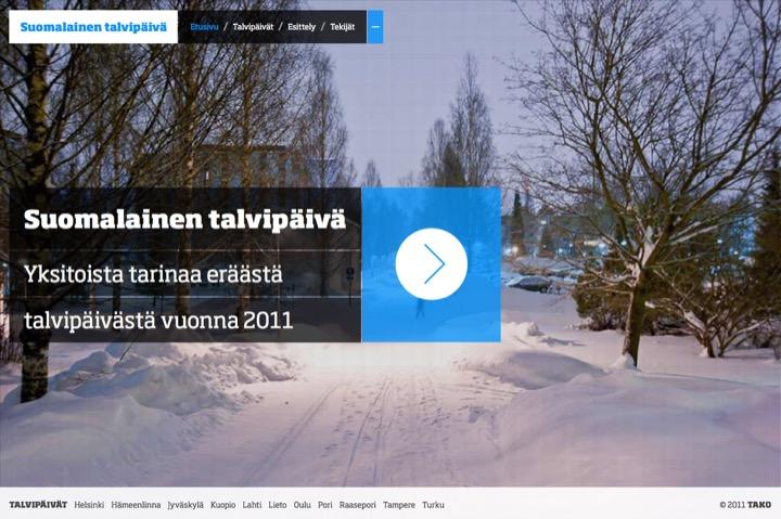 Suomalainen talvipäivä